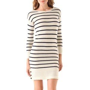 Trovata Striped Sweater Dress Birds of Paradis  M